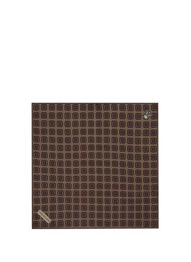 Corneliani Corneliani Vizon Geometrik Desenli İpek Poşet Mendil 101624723 Renkli